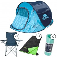 Trespass Ultimate Festival/Campaignset, turquoise