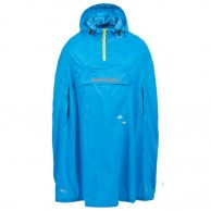 Trespass Qikpac Poncho, blue