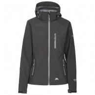 Trespass Bela II, womens softshell jacket, black