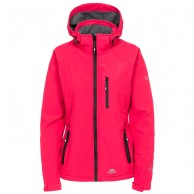 Trespass Bela II, womens softshell jacket, raspberry