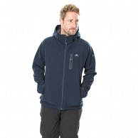 Trespass Accelerator II, mens soft shell jacket, navy