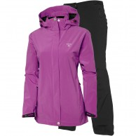 Tenson Biscaya, womens Rain set, purple