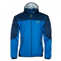 Kilpi Hurricane rainjacket, men, blue