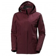 Helly Hansen W Aden Rain Jacket, women, port