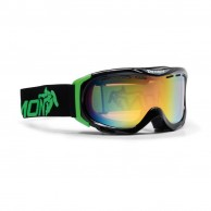 Demon Divine ski goggles, Black/green