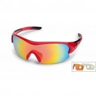 Demon Fuel sport sunglasses, red, 3 lenses