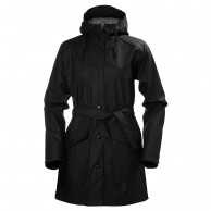 Helly Hansen W Kirkwall Rain Jacket, womens, black