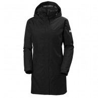 Helly Hansen W Aden Long Insulated, black