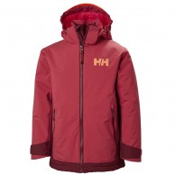 Helly Hansen Hillside skijacket, junior, cardinal