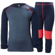 Helly Hansen Lifa Merino skiunderwear, set, kids, evening blue