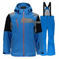 Spyder Titan/Propulsion Tailored Ski set, men, blue