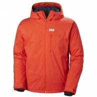Helly Hansen Double Diamond ski jacket, mens, grenadine