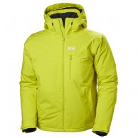 Helly Hansen Double Diamond ski jacket, mens, sweet lime