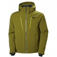 Helly Hansen Alpha 3.0 ski jacket, mens, fir green