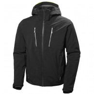 Helly Hansen Alpha 3.0 ski jacket, mens, black