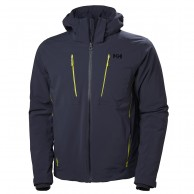 Helly Hansen Alpha 3.0 ski jacket, mens, graphite blue