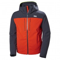 Helly Hansen Signal ski jacket, mens, grenadine