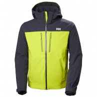 Helly Hansen Signal ski jacket, mens, sweet lime