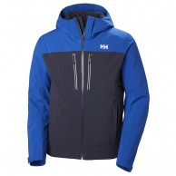 Helly Hansen Signal ski jacket, mens, graphite blue