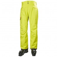 Helly Hansen Sogn Cargo mens ski pants, sweet lime