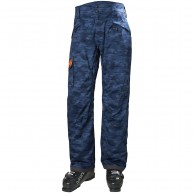 Helly Hansen Sogn Cargo mens ski pants, graphite blue