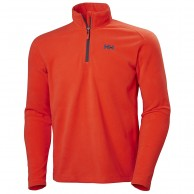 Helly Hansen Daybreaker 1/2 zip midlayer, grenadine