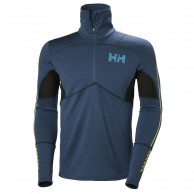 Helly Hansen Lifa Merino Hybrid Top, mens, dark teal