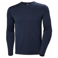 Helly Hansen Lifa Merino Crew, mens, evening blue