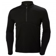 Helly Hansen Lifa Merino Max 1/2 zip, mens, black