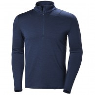 Helly Hansen Lifa Merino Max 1/2 zip, mens, evening blue