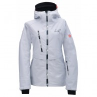 2117 of Sweden Rämmen LS, ski jacket, women, white