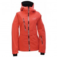 2117 of Sweden Rämmen LS, ski jacket, women, fiery pink