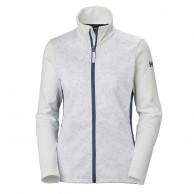 Helly Hansen W Graphic fleece jacket, women, white