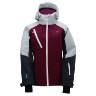 2117 of Sweden Grytnäs LS ski jacket, women, magenta