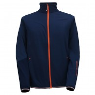 2117 of Sweden Essunga mens fleece jacket, navy