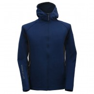 2117 of Sweden Björkhult MS fleece jacket, men, navy