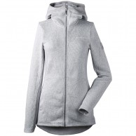 Didriksons Merra fleece jacket, woman, aluminum
