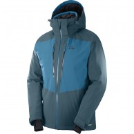 Salomon Icefrost JKT M, men's, moroccan blue