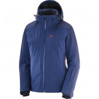 Salomon Brilliant JKT W, women's, medieval blue