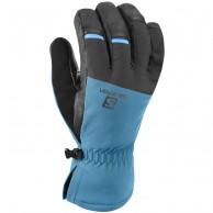 Salomon Propeller Dry ski Gloves, moroccan blue/black