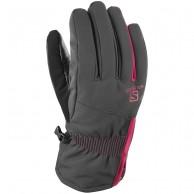 Salomon Propeller Dry W ski Gloves, black/cerise