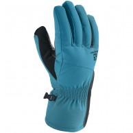 Salomon Propeller Dry W ski Gloves, deep lagoon/black