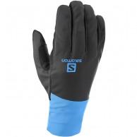 Salomon Equipe ski Gloves, black/hawaiian surf