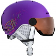 Salomon Grom Visor, purple
