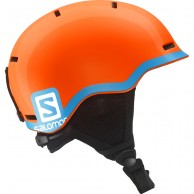 Salomon Grom Ski Helmet, orange/blue