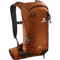 Salomon QST 12, Bag, umber/black