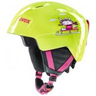 Uvex Manic, helmet, lime snow bunny