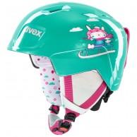 Uvex Manic, helmet, mint snow bunny