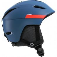 Salomon Ranger2 Ski Helmet, moroccan blue/neon red
