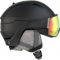 Salomon Mirage+ Photo, helmet with visor, black